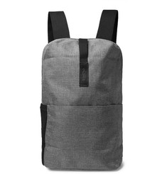 Brooks England Dalston Small Leather-Trimmed Tex Nylon Ripstop Backpack