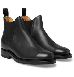 Viberg Leather Chelsea Boots
