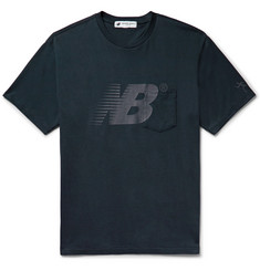 New Balance + Engineered Garments Logo-Print Cotton-Jersey T-Shirt