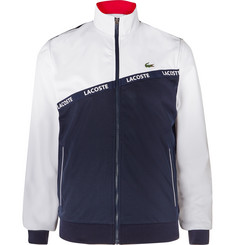 Lacoste Tennis - Logo-Trimmed Colour-Block Mesh Tennis Jacket