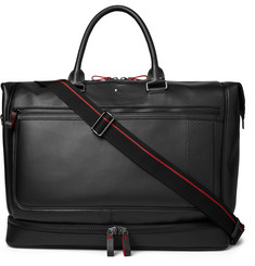 Montblanc Urban Racing Spirit Perforated Leather Duffle Bag
