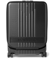 Montblanc #MY4810 Cabin Leather-Trimmed Polycarbonate Suitcase