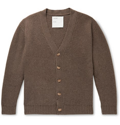 Entireworld Big Cardi Ribbed Merino Wool Cardigan