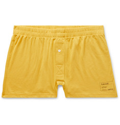 Entireworld Slim-Fit Organic Cotton-Jersey Boxer Shorts