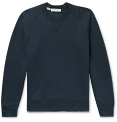 Entireworld Slim-Fit Fleece-Back Organic Cotton-Jersey Sweatshirt