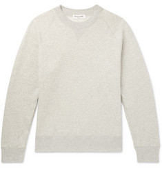Entireworld Slim-Fit Mélange Fleece-Back Organic Cotton-Jersey Sweatshirt