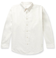 Entireworld Giant Button-Down Collar Organic Cotton Oxford Shirt