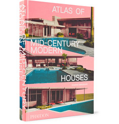 Phaidon Atlas of Mid-Century Modern Houses Hardcover Book