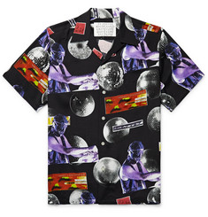 Wacko Maria + DJ Harvey Camp-Collar Printed Woven Shirt