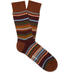 Missoni Striped Cotton-Blend Jacquard Socks
