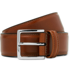 Anderson's Tan 3.5cm Leather Belt