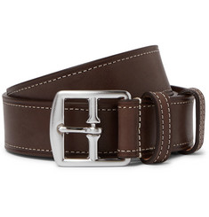 Anderson's 3.5cm Brown Leather Belt