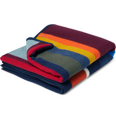 Best Made Company The Anniversary Axe Wool and Cotton-Blend Blanket