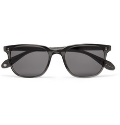 Garrett Leight California Optical Emperor 52 Square-Frame Polarised Acetate Sunglasses
