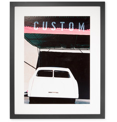 Sonic Editions Framed 1998 George Barris' Unfinished Project Car Print, 16