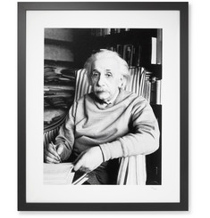 Sonic Editions Framed 1949 Albert Einstein Print, 16