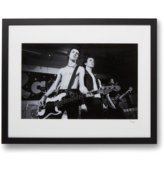 Sonic Editions Framed 1978 The Sex Pistols Print, 16