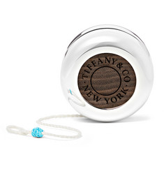 Tiffany & Co. Tiffany 1837 Makers Sterling Silver and Walnut Yo-Yo