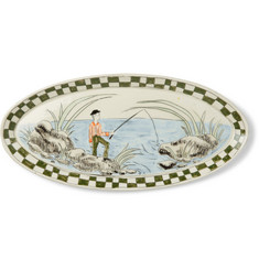 BODE + Botticelli Ceramics Painted Porcelain Dish