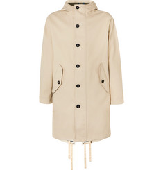 Mr P. Oversized Bonded-Cotton Hooded Parka
