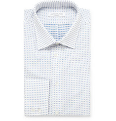 Richard James Spotted Cotton Shirt