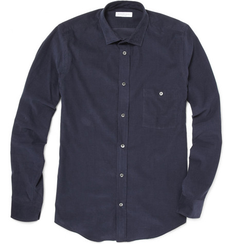 Richard James Needlecord Cotton Shirt