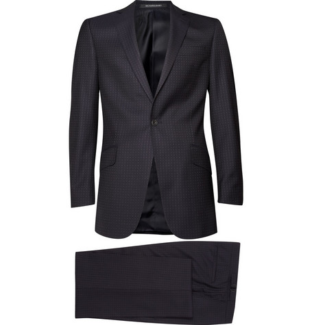 Richard James Dotted Wool Suit