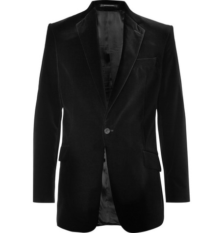 Richard James Velvet Suit Jacket