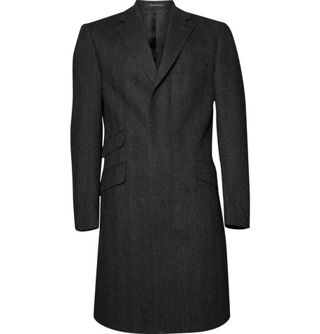 Richard James Classic Herringbone Wool  Coat