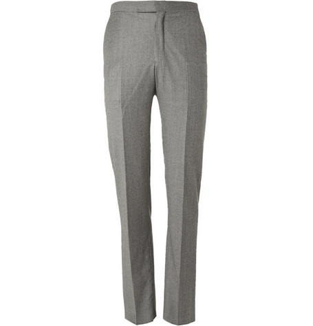 Richard James Houndstooth Wool Suit Trousers