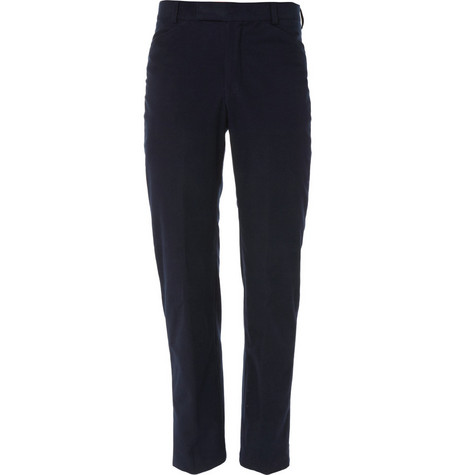 Richard James Cotton-Blend Moleskin Trousers