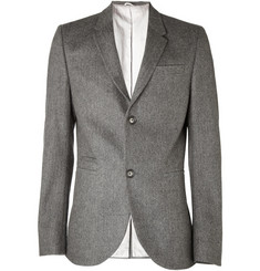 Aubin & Wills Sandbanks Herringbone Tweed Suit Jacket