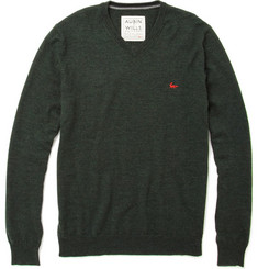 Aubin & Wills Merino Wool V-Neck Sweater