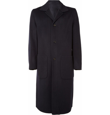Acne Studios Sander Wool And Cashmere-Blend Coat