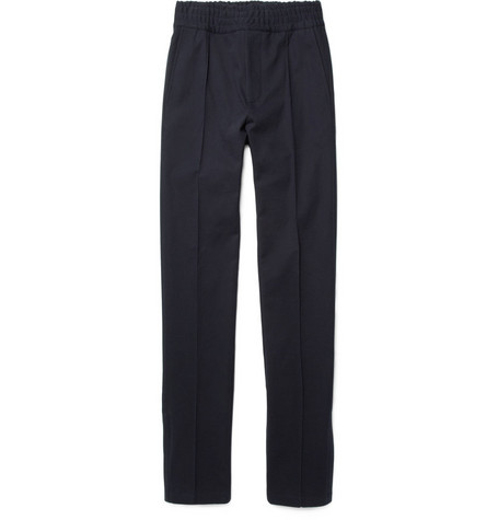 Acne Cornell Cotton-Blend Slim Leg Trousers