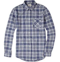 Acne Straight Check Cotton Shirt