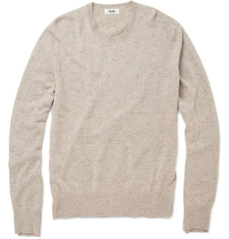 Acne Studios Atlas O Cash Cashmere Sweater
