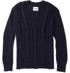 Acne Elgin Cable-Knit Sweater