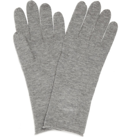Acne Nils Knitted Cashmere Gloves