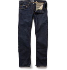 Gilded Age Washed Straight Fit Selvedge Jeans