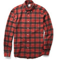 Aspesi Plaid Flannel Shirt