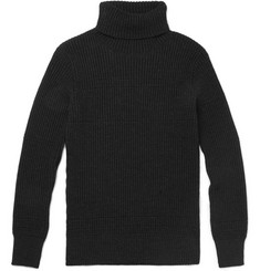 S.N.S. Herning Tonus Roll Neck Ribbed Wool Sweater