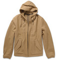 AMI Wool-Blend Hooded Jacket
