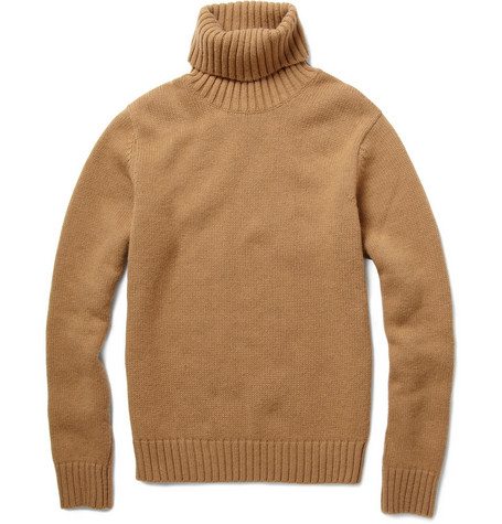 AMI Chunky Wool Rollneck Sweater