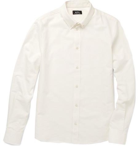 A.P.C. Oxford Button-Down Collar Shirt