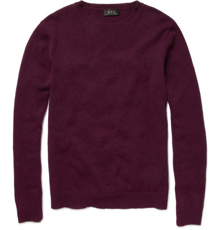 A.P.C. Crew Neck Wool Sweater