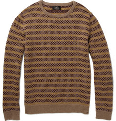 A.P.C. Jacquard Knit Lambswool Sweater