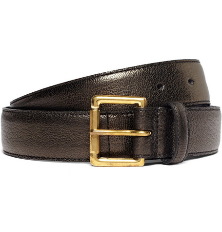 A.P.C. Slim Leather Belt