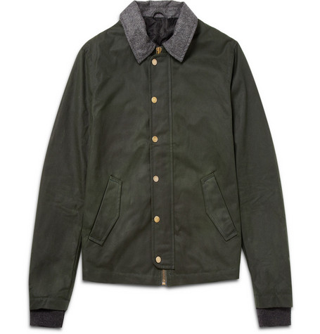 AMI Waxed Cotton Jacket