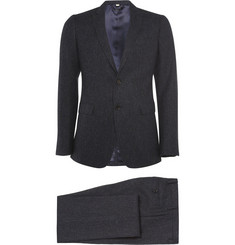 Burberry London Slim Fit Wool Tweed Suit